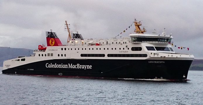 Ferry transport to Stornoway